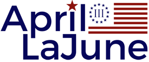 April LaJune | Conservative Talk Show Host Logo